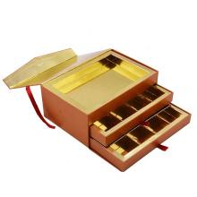 Hot sale luxury custom fancy empty perfume cosmetic Drawer Packaging Box