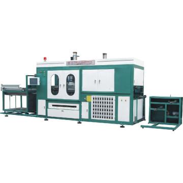 PLC type automatic vacuum forming machine