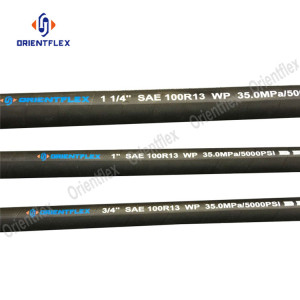 Steel+Wire+Reinforcement+Hydraulic+Hose+SAE+100+R13