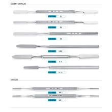 Edelstahl Dental Zement Spatel, Dental Scaler und Expoloren (XT-FL020)