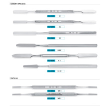 Stainless Steel Dental Cement Spatulas, Dental Scaler and Expolorers (XT-FL020)