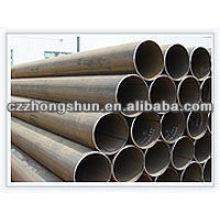Tube en acier au carbone MS ERW ASTM A53 Gr B / API5L / Q235 / SS400
