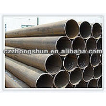 Tubo de acero de carbono SM ERW ASTM A53 Gr B / API5L / Q235 / SS400