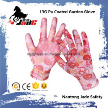 13G PU Coated Garden Work Glove