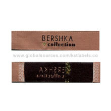 Good Texture Neck Labels, End Fold, Embroidered, Abundant Patterns on Above and Looks Colorful