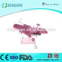 DW-01B multi-funktionale tragbare medizinische Diagnose elektrische Geburtshilfe Bett