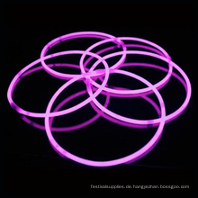 Rosa Leuchtstab Halskette