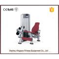 Máquina de extensión de pierna de equipo de gimnasio comercial