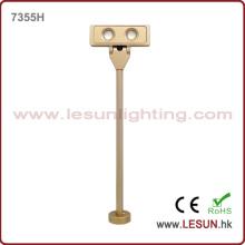 Luz de poste de la joyería del oro 2W LED para el escaparate LC7355h