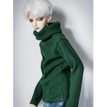 Clothes Green/White High-neck SweaterA197 for MSD/SD/70cm