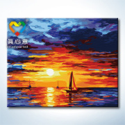 wholesale OEM abstract oil painting by number kit