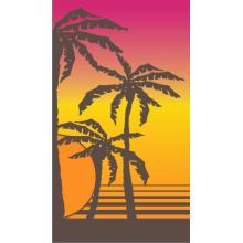 Banana Leaf Print Hawaiian Target Beach Towel