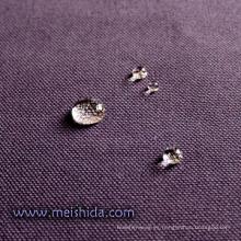 Tela de algodón repelente al agua