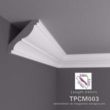 Neues professionelles Design dekoratives PU-Gesims-Formteil für Hausgebrauch