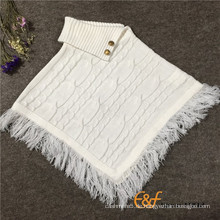 2016 Mode Kabel Design Pullover Ärmel Pullover Mantel