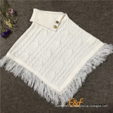 2016 Moda Design de cabo Camisola de camisola sem mangas