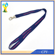 Promotional Single Custom Lanyards with Metal Hook