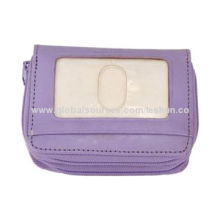 Multi-function coin purse, made of PU, accepted OEM & ODM, pass REACH standard & 6PNew
