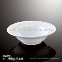 Gute Qualität Porzellan Deckel Schüssel