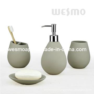 Waterdrop Shape Polyresin Bath Accessories (WBP0826A)