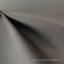 Soft Leather Fabric PVC Leather Sofa Cloth Lychee