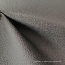 Couro macio tecido PVC couro sofá pano lichia