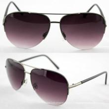 Gafas de sol polarizadas de la manera del metal del diseñador de la calidad para los hombres (14191)