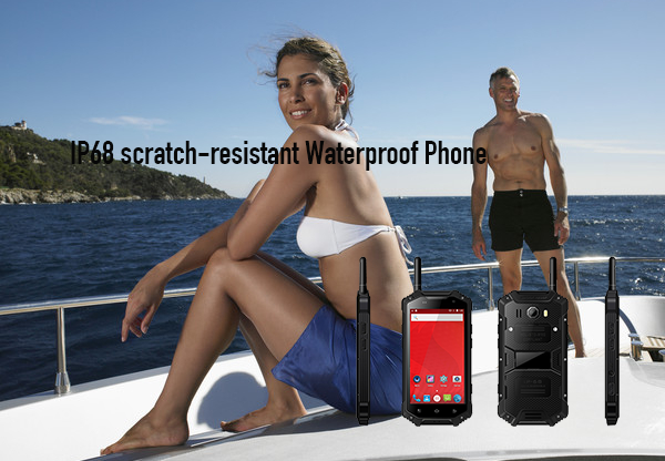 IP68 scratch-resistant Waterproof Phone