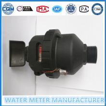 Black Nylon Materail Volumetric Water Flow Meter