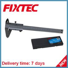 A mão de Fixtec utiliza ferramentas o compasso de calibre vernier de aço inoxidável de 0-150mm