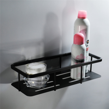 HIDEEP Bathroom 304 Stainless Steel Black Shower Shelf