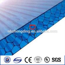 Waben-Polycarbonat-Folie / 8mm Waben-Polycarbonat-Folie / klare Waben-Polycarbonat-Folie