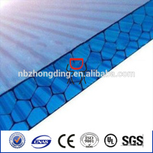 4 wall honeycomb polycarbonate sheet