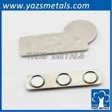 fabricant badge à motifs en métal en métal personnalisé