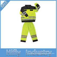 SV-702 Europa mercado estándar EN ISO Chaleco de seguridad ropa protectora reflectante de alta visibilidad Safty chaleco venta caliente 2014