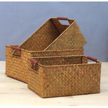 (BC-ST1065) High Quality Handmade Straw Basket