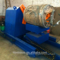 high quality manual 5 tons uncoiler decoiler machine with loading car