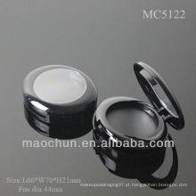 MC5122 Embalagem compacta oval em forma de blush