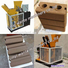 New! ECO BRAVA Wt1-25 diesel brick production machine for construction