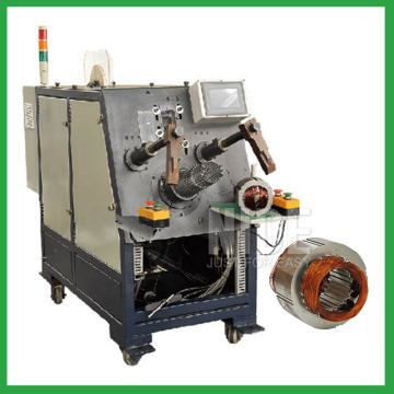 Economic type induction auto stator coil insertion machine