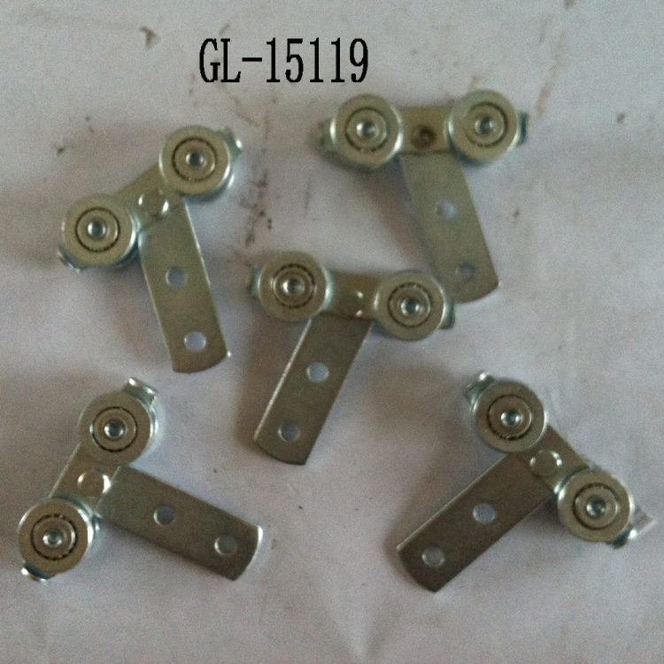 Roller Pullry Ball Bearing With Hole Hardware