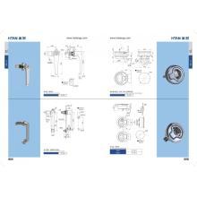 Security Cylinder  Handle Door Lock for Home