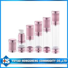 PP Material Rosa Farbe Mädchen mit Kosmetik Airless Flasche mit Lotion Pumpe