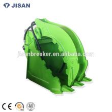 DLKS08 Excavadora hidráulica registro agarre grabple cubo para 20-30 toneladas excavadora