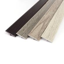 Raitto PVC flooring profile surface printed plastic t shaped molding edging,YP26