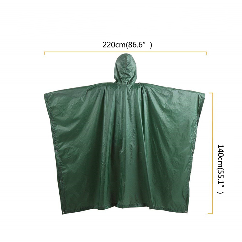 Outdoor Waterproof Raincoat Rain Coat Men Raincoat Women Awning From The Rain Motorcycle Rain Poncho Picnic Mat6