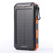 Solar Phone Charger Polymer Battery Power Bank