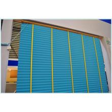 50mm Slats Échelle Ruban Cordon Contrôle High Profile Metal Headrail Ventilateur Couvre-fenêtre 35mm Échelle Cordon de bande Contorl High Profile Metal Headrail Basswood Curtain