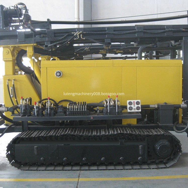 Multifunction Crawler Water Well Drilling Rig