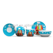 Porcelain Kids Breakfast Set
